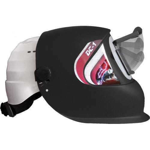Pantalla soldar con casco DC1 FLIP