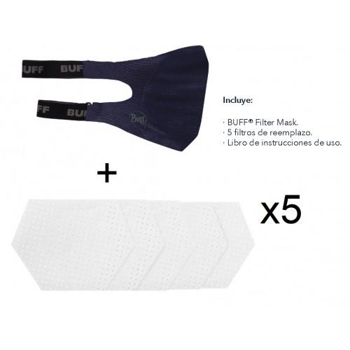 Mascarilla Buff Filter Mask- Reutilizable