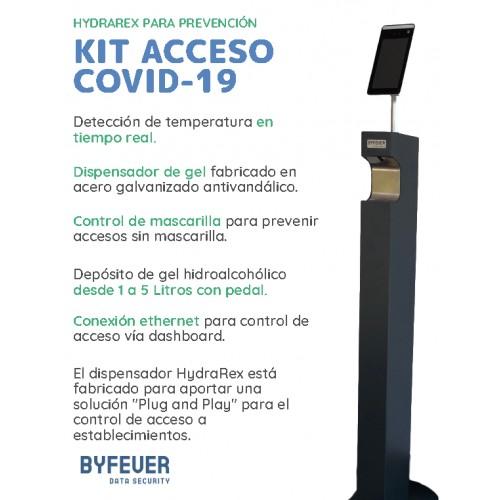 KIT- Pedestal Electrónico Covid-19