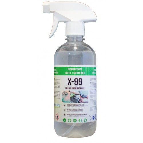 Spray Desinfectante Textil 500 ml