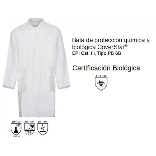 Bata de Protección Biológica - EN14126