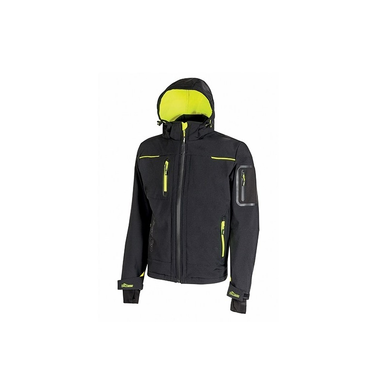 Chaqueta softshell Impermeable Upower Space