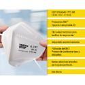Pack 40 mascarilla antivirus Paredes FFP2