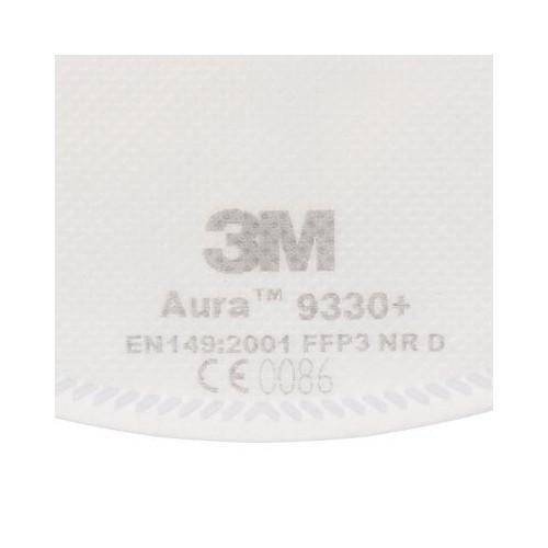 Pack 100 mascarillas Antivirus 3M 9330 FFP3