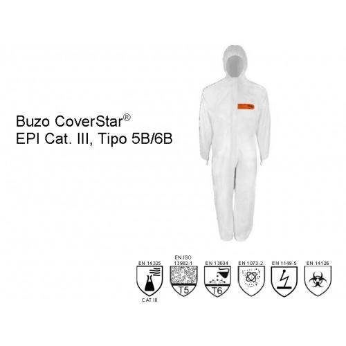 Buzo de protección Biológica CoverStar® CS500