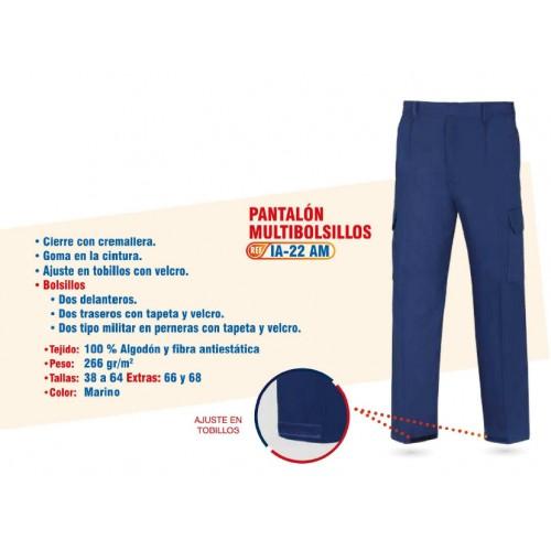 PANTALON IGNIFUGO - ANTIESTATICO - CONTRA ARCO ELECTRICO