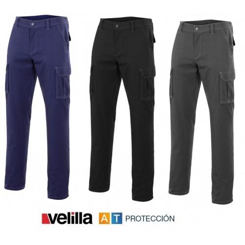 Pantalón multibolsillos tergal Velilla 103001