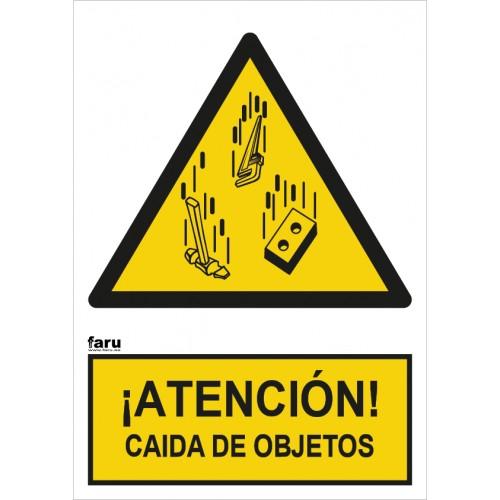 ¡ATENCIÓN ! POSIBLE CAIDA DE OBJETOS A4 Y A3