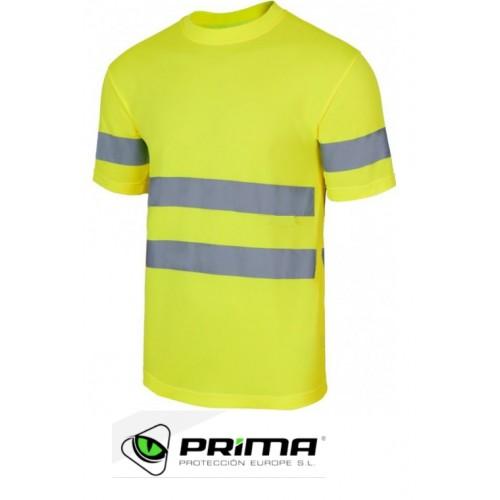 Camiseta técnica alta visibilidad Prima Visión