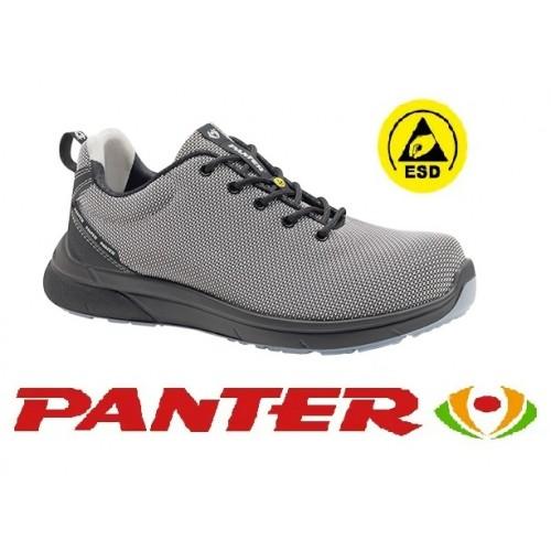 Calzado de Seguridad Panter Forza Sporty S3 ESD Gris Claro