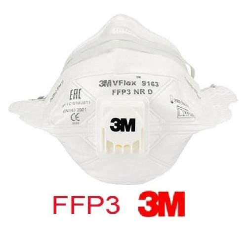 Pack 15 mascarilla 3M 9163E FFP3 con válvula
