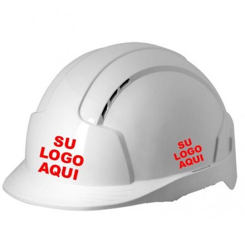 Casco de obra con Logo - Personalizado