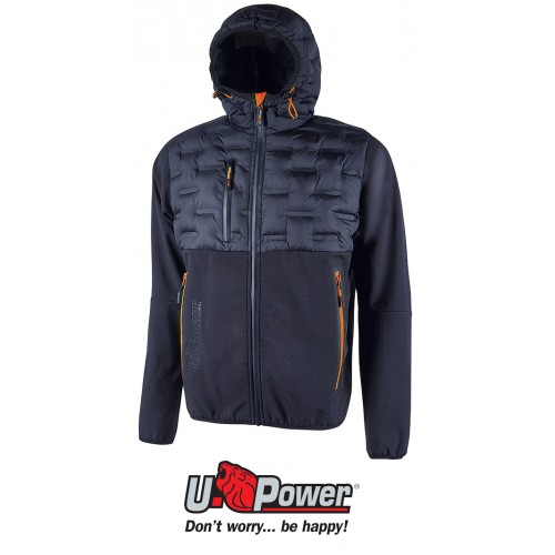 Chaqueta softshell Impermeable Upower Spock