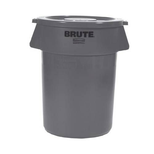 Contenedor residuos RUBBERMAID BRUTE 76L