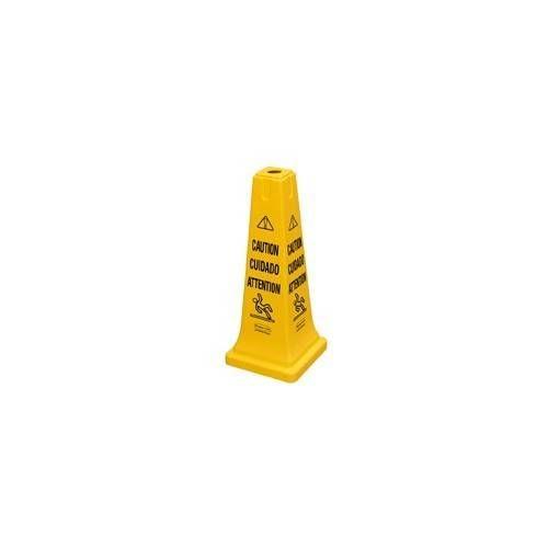 Cono de seguridad/advertencia de CUIDADO pequeño.