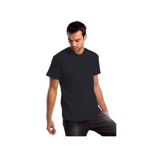 Camiseta cuello de pico BC algodón