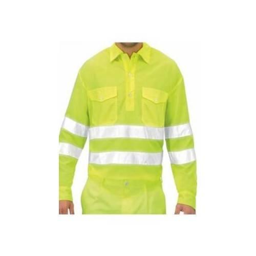 Camisa manga larga alta visibilidad