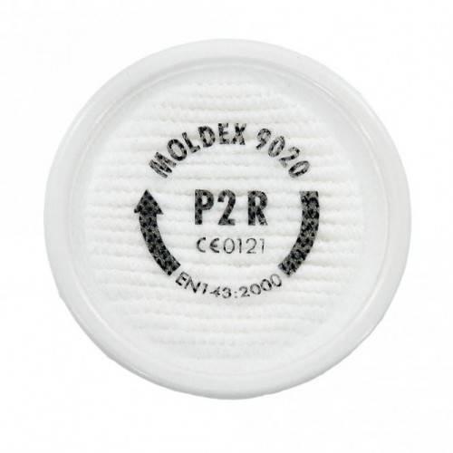 2 filtros P2 MOLDEX 9020 partículas