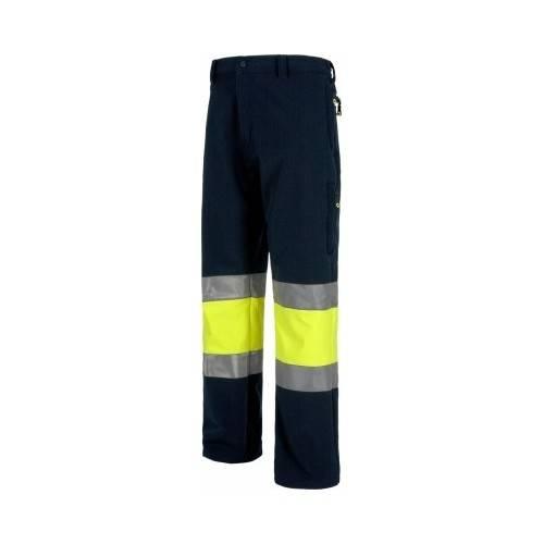 pantalón alta visibilidad WORK SHELL.