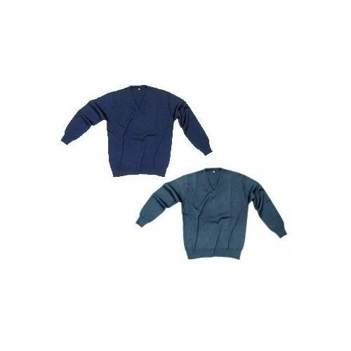 Jersey cuello de pico (2 colores)