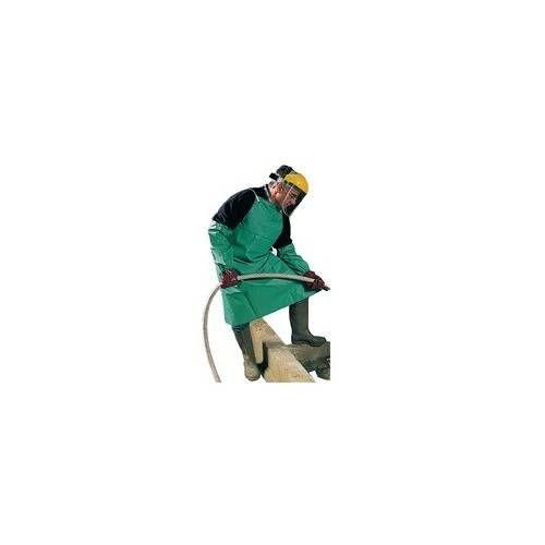 Delantal de protección química PVC-Nylon Chemmaster