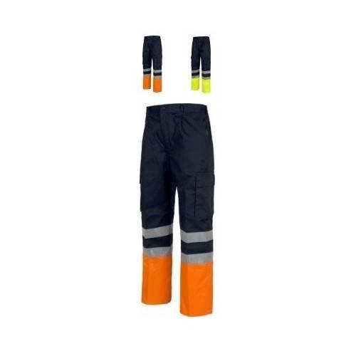 Pantalón con reflectantes bicolor C4014
