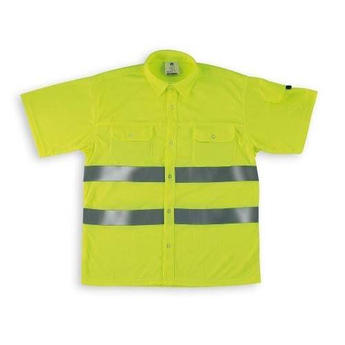 Camisa alta visibilidad manga corta CAFYMC