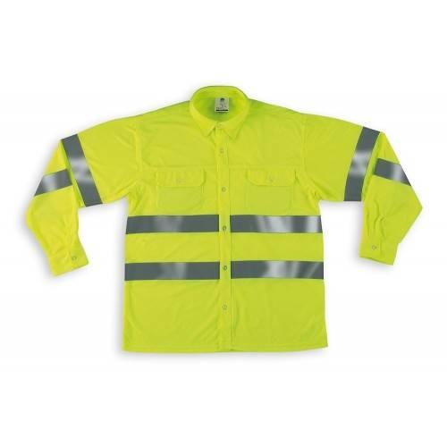 Camisa alta visibilidad manga larga CAFYML