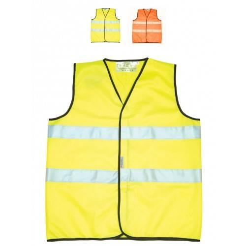Chaleco alta visibilidad Amarillo o Naranja