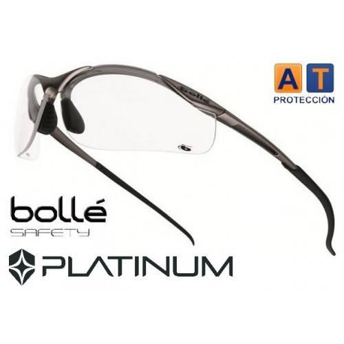 Gafa BOLLE CONTOUR Platinum transparentes