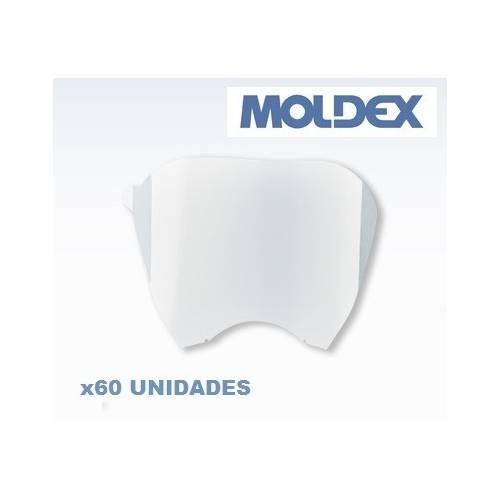 PACK 60 unidades Protector pantalla Moldex