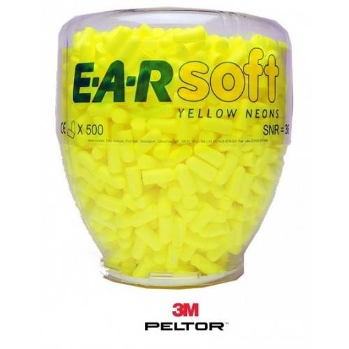 Botella 500 pares tapones Ear Soft
