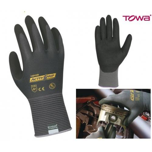 Guantes nitrilo Microfinish AVTIV GRIP ADVANCE