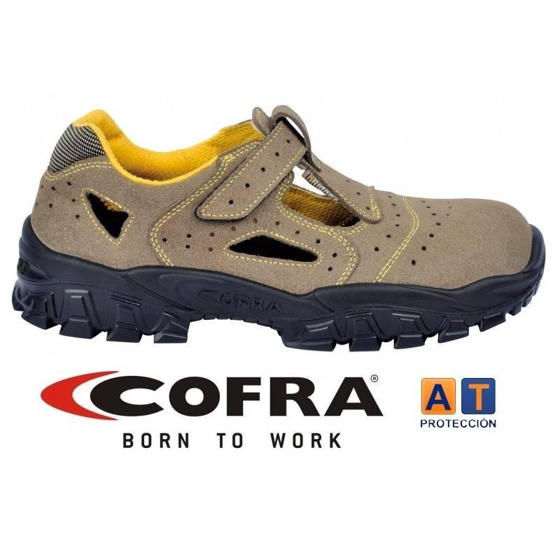 Cofra Brenta - Zapato de seguridad con puntera de metal, talla 46