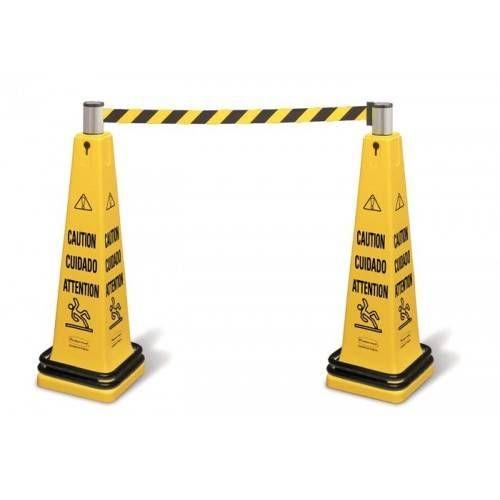Sistema de barricada móvil RUBBERMAID