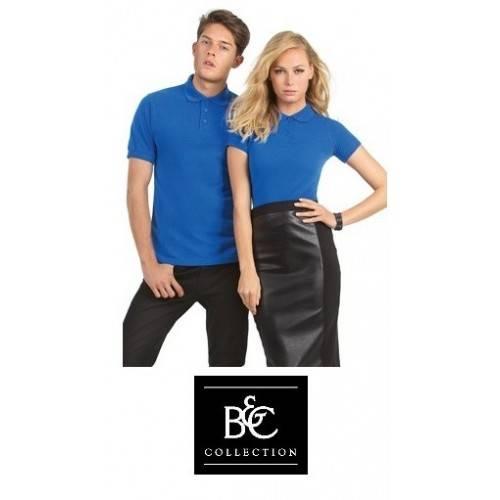 Polo pique manga corta algodón B&C BCPS
