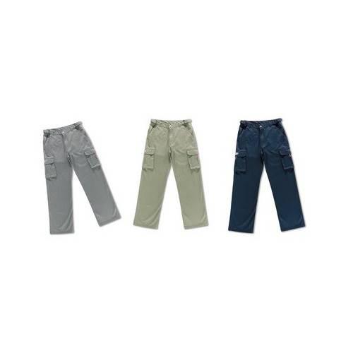 Pantalón multibolsillos elásticos