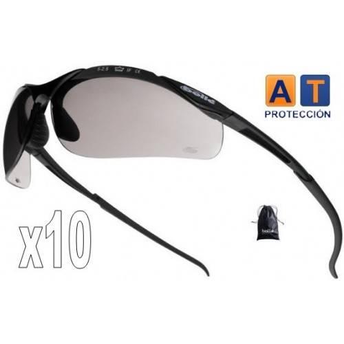 Pack 10 gafas BOLLE CONTOUR Platinum solar