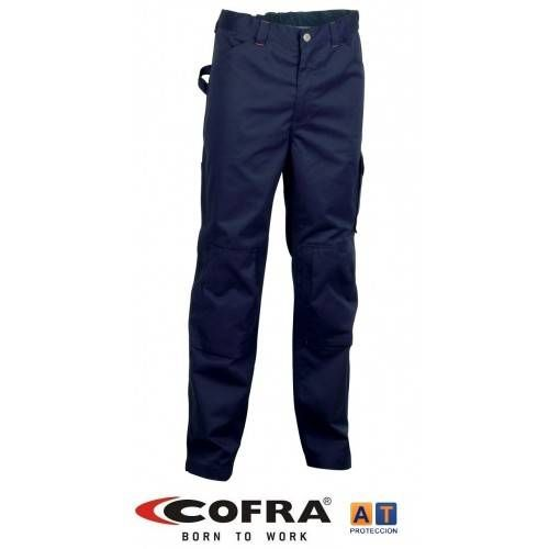 Pantalón tergal COFRA RABAT azul marino