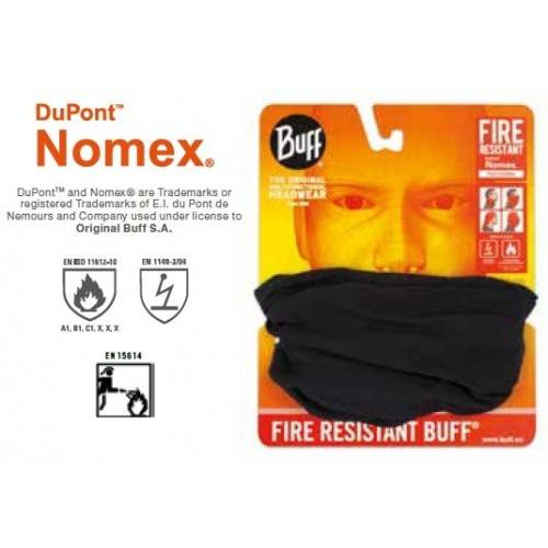Tubular Buff Fire Resistant Nomex