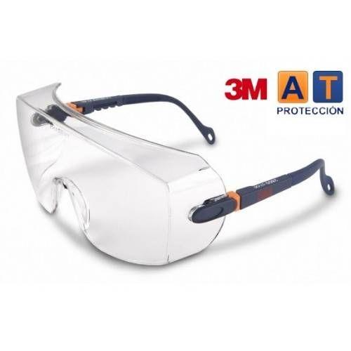 Gafas 3M 2800 transparentes