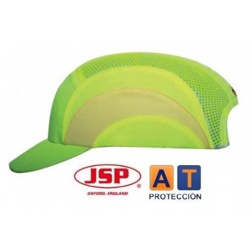 Gorra de seguridad antigolpes JSP ABSHV alta visibilidad