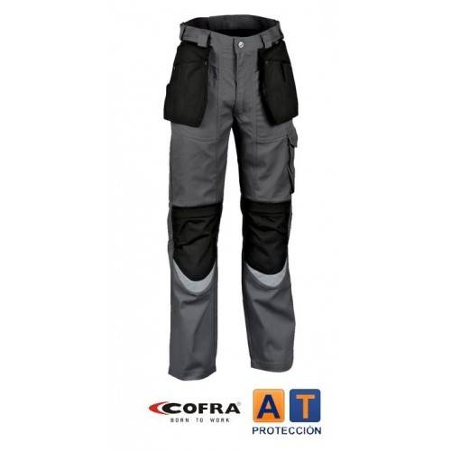 Pantalón COFRA Carpenter antracita-negro