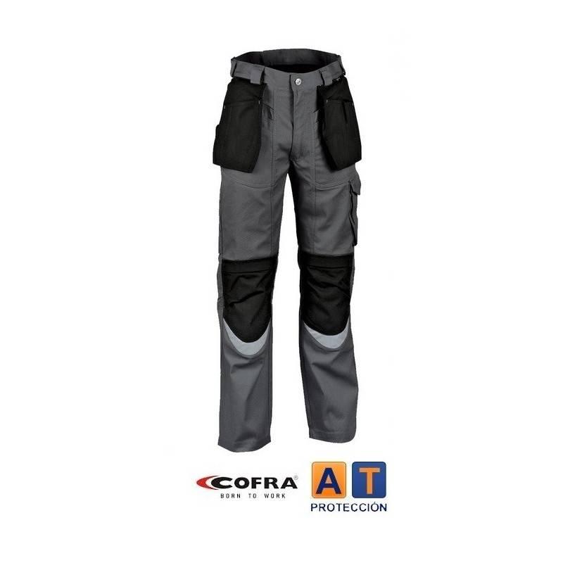 Pantalón de trabajo COFRA Carpenter Antracita-Negro